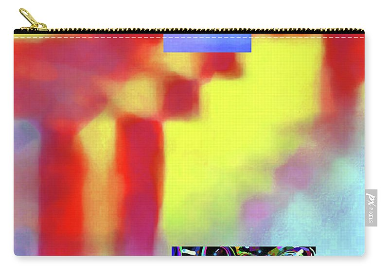 Walter Paul Bebirian Carry-all Pouch featuring the digital art 5-14-2015fabcdefghijklmnop by Walter Paul Bebirian