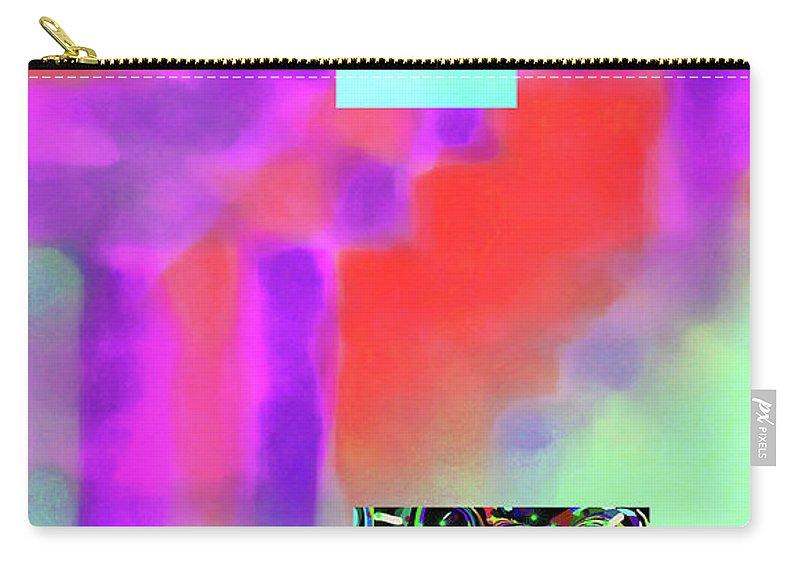 Walter Paul Bebirian Carry-all Pouch featuring the digital art 5-14-2015fabcdefghijklmnopqrtuvw by Walter Paul Bebirian
