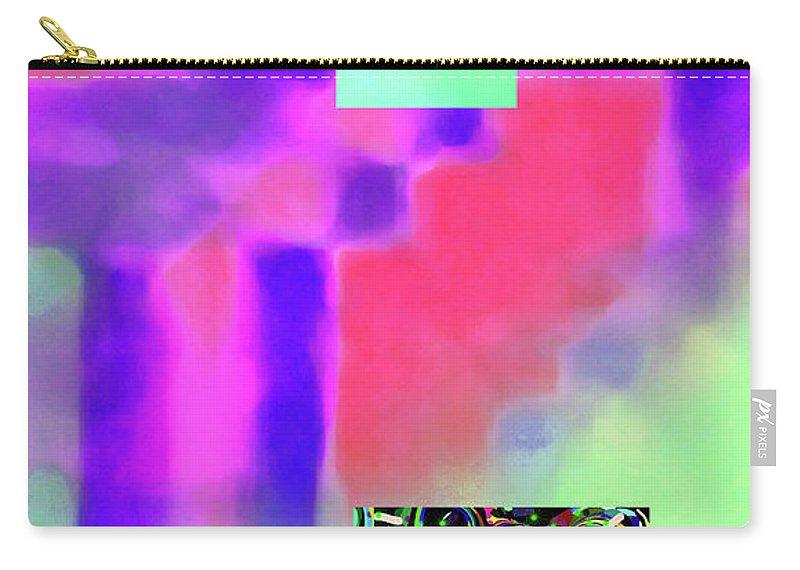 Walter Paul Bebirian Carry-all Pouch featuring the digital art 5-14-2015fabcdefghijklmnopqrtuvwxy by Walter Paul Bebirian