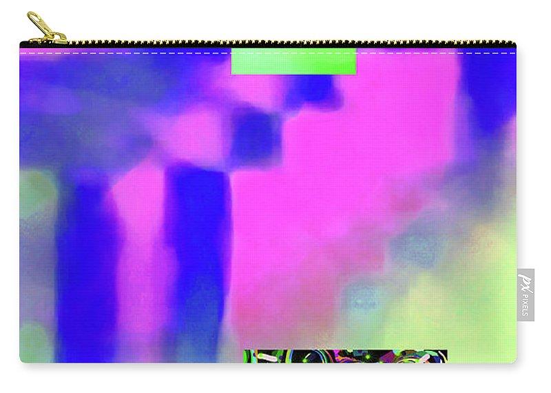 Walter Paul Bebirian Carry-all Pouch featuring the digital art 5-14-2015fabcdefghijklmnopqrtuvwxyzab by Walter Paul Bebirian