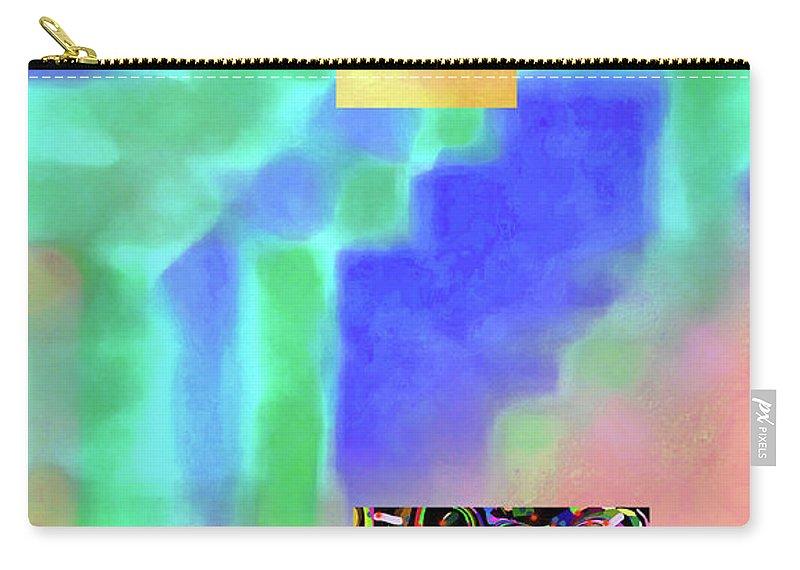 Walter Paul Bebirian Carry-all Pouch featuring the digital art 5-14-2015fabcdefghijklmnopqrtuvwxyzabcdefghij by Walter Paul Bebirian