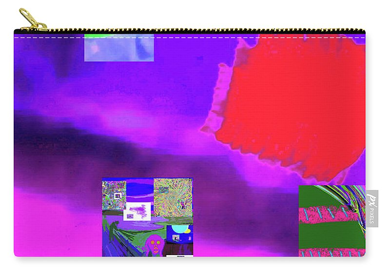 Walter Paul Bebirian Carry-all Pouch featuring the digital art 5-14-2015gab by Walter Paul Bebirian