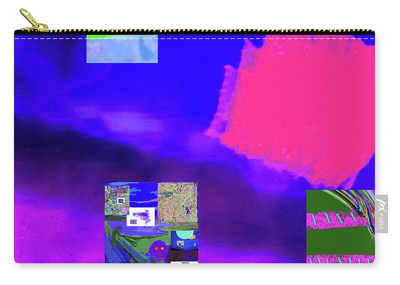 Walter Paul Bebirian Carry-all Pouch featuring the digital art 5-14-2015gabcd by Walter Paul Bebirian