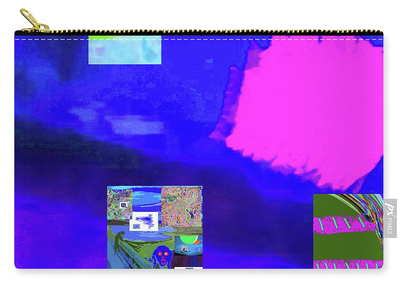 Walter Paul Bebirian Carry-all Pouch featuring the digital art 5-14-2015gabcdef by Walter Paul Bebirian