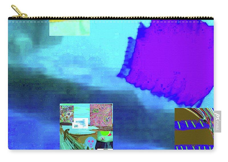 Walter Paul Bebirian Carry-all Pouch featuring the digital art 5-14-2015gabcdefghij by Walter Paul Bebirian