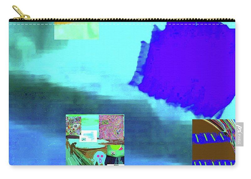 Walter Paul Bebirian Carry-all Pouch featuring the digital art 5-14-2015gabcdefghijk by Walter Paul Bebirian
