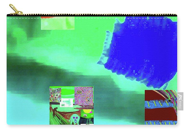 Walter Paul Bebirian Carry-all Pouch featuring the digital art 5-14-2015gabcdefghijklmn by Walter Paul Bebirian