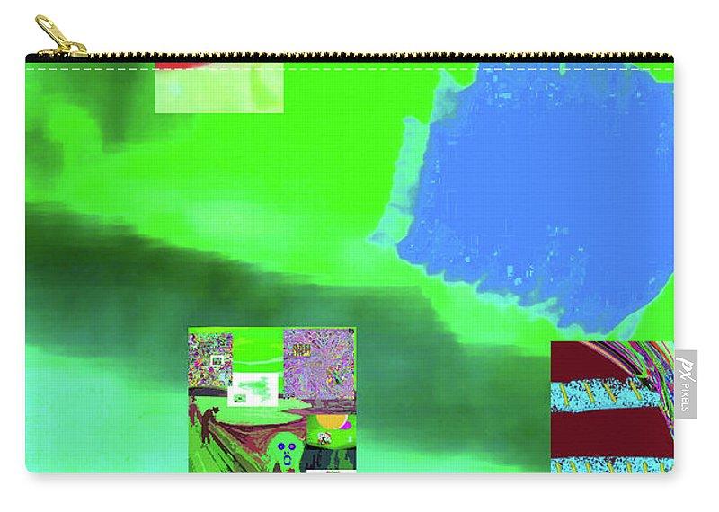 Walter Paul Bebirian Carry-all Pouch featuring the digital art 5-14-2015gabcdefghijklmnop by Walter Paul Bebirian