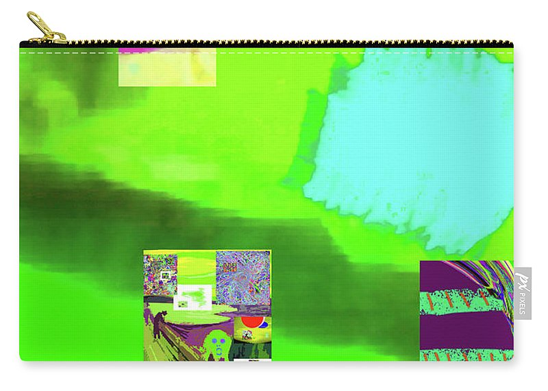 Walter Paul Bebirian Carry-all Pouch featuring the digital art 5-14-2015gabcdefghijklmnopqrtu by Walter Paul Bebirian