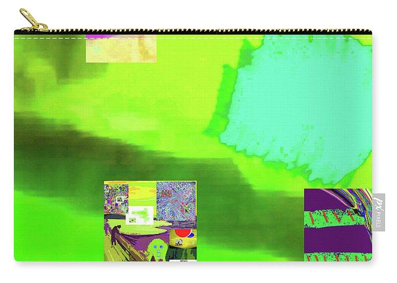 Walter Paul Bebirian Carry-all Pouch featuring the digital art 5-14-2015gabcdefghijklmnopqrtuv by Walter Paul Bebirian
