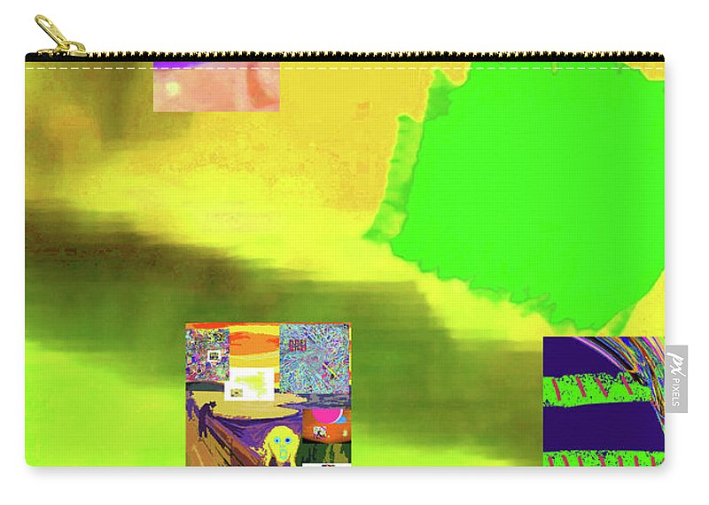 Walter Paul Bebirian Carry-all Pouch featuring the digital art 5-14-2015gabcdefghijklmnopqrtuvwxy by Walter Paul Bebirian