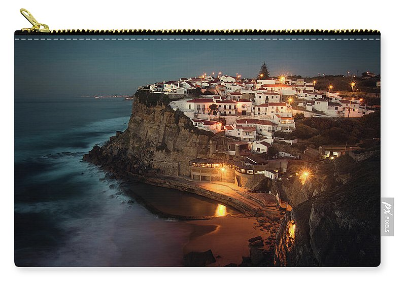 Portugal Carry-all Pouch featuring the photograph Azenhas Do Mar by Carlos Caetano