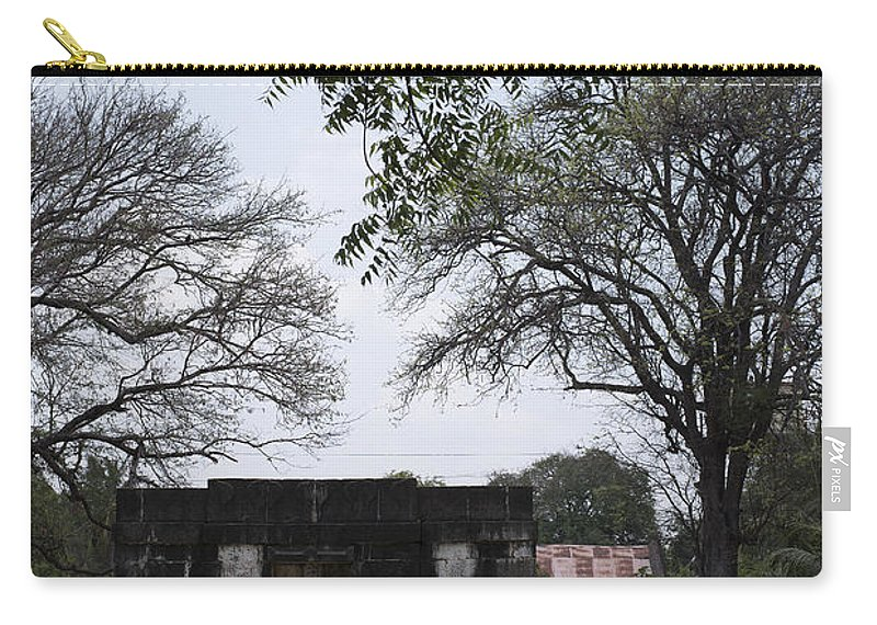 Well Carry-all Pouch featuring the photograph Baramotachi Vihir Historic 12 Channel Flow Well by Kiran Joshi