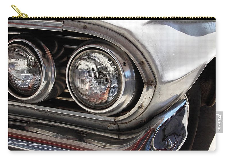 Cars Carry-all Pouch featuring the photograph Biscayne by Amanda Barcon