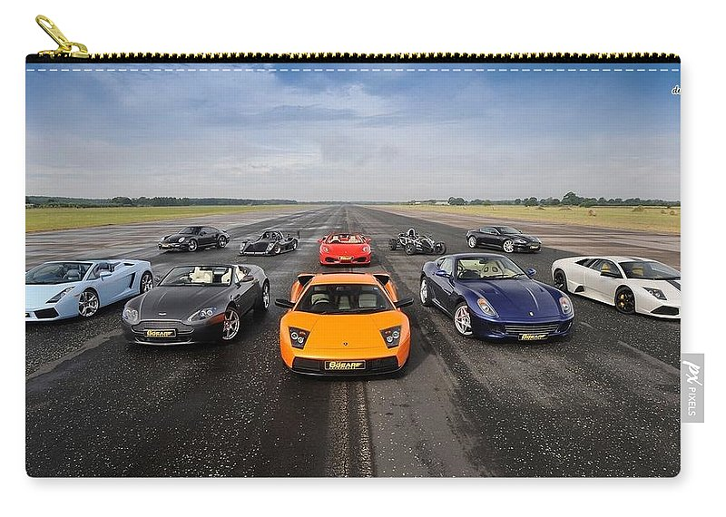 Car Carry-all Pouch featuring the photograph Car by Jackie Russo