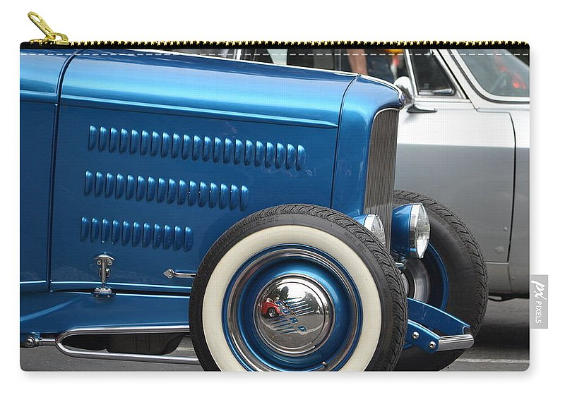 Carry-all Pouch featuring the photograph Classic Ford by Dean Ferreira