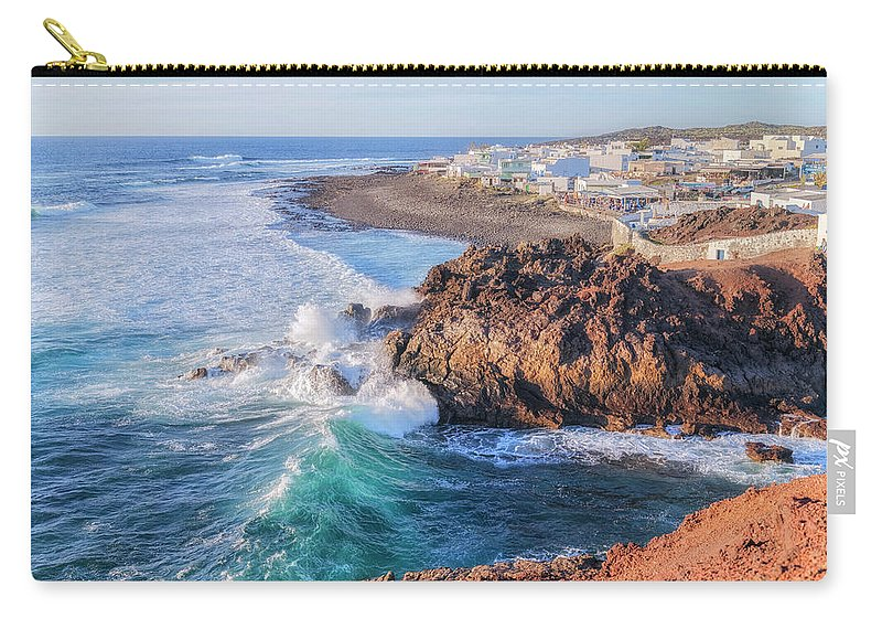 El Golfo Carry-all Pouch featuring the photograph El Golfo - Lanzarote by Joana Kruse
