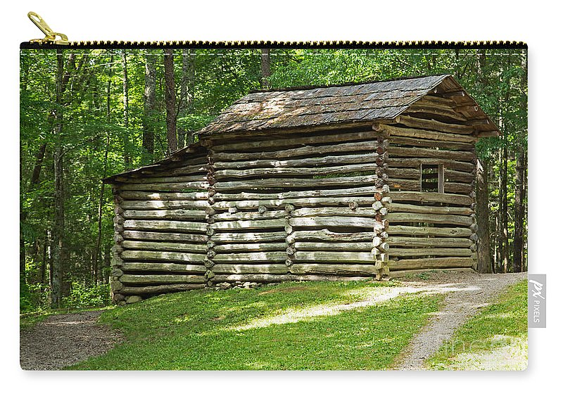 Cades Cove Carry-all Pouch featuring the photograph Elijah Oliver Place by Fred Stearns