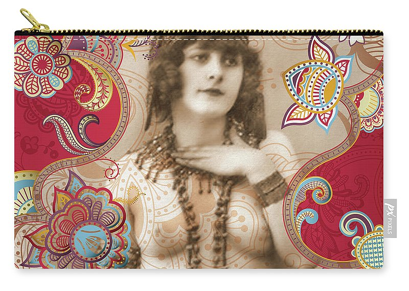 Nostalgic Seduction Carry-all Pouch featuring the photograph Goddess by Chris Andruskiewicz