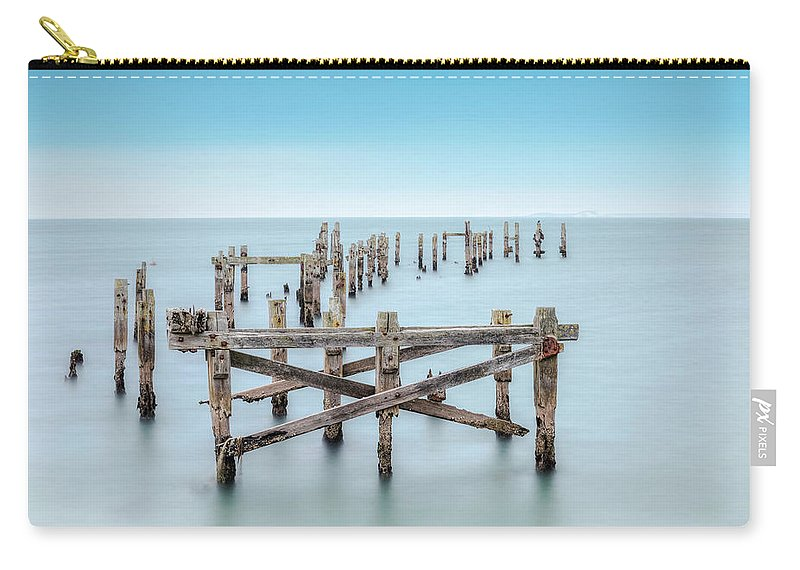 Swanage Carry-all Pouch featuring the photograph Swanage - England by Joana Kruse