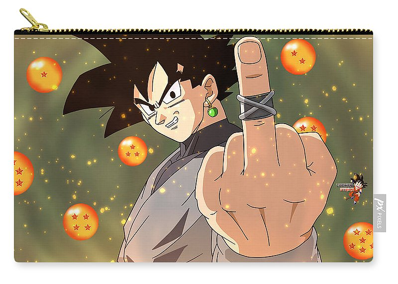 Ultra Instinct Goku Carry All Pouch