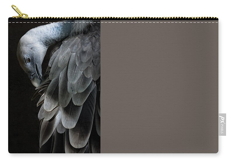 Vulture Carry-all Pouch featuring the photograph Vulture by FL collection