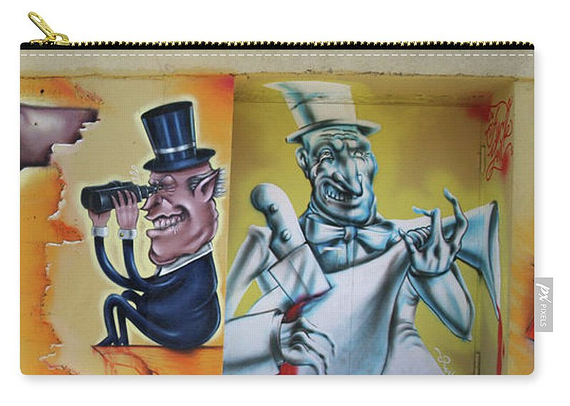 City Carry-all Pouch featuring the photograph 52 by Roger Muntes