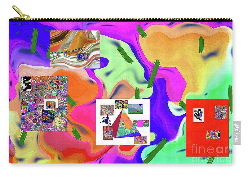 Walter Paul Bebirian Carry-all Pouch featuring the digital art 6-19-2015dabcdefghijklmnopqrtuvwxyzabcde by Walter Paul Bebirian