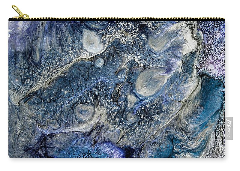 Abstract Painting Carry-all Pouch featuring the photograph Abstract by Leanne Matson