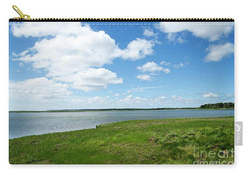 Cape Cod Carry-all Pouch featuring the photograph Cape Cod Salt Pond by Michelle Himes