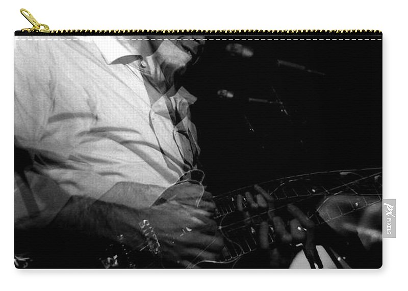 Bob Weir Carry-all Pouch featuring the photograph #6 Enhanced by Ben Upham
