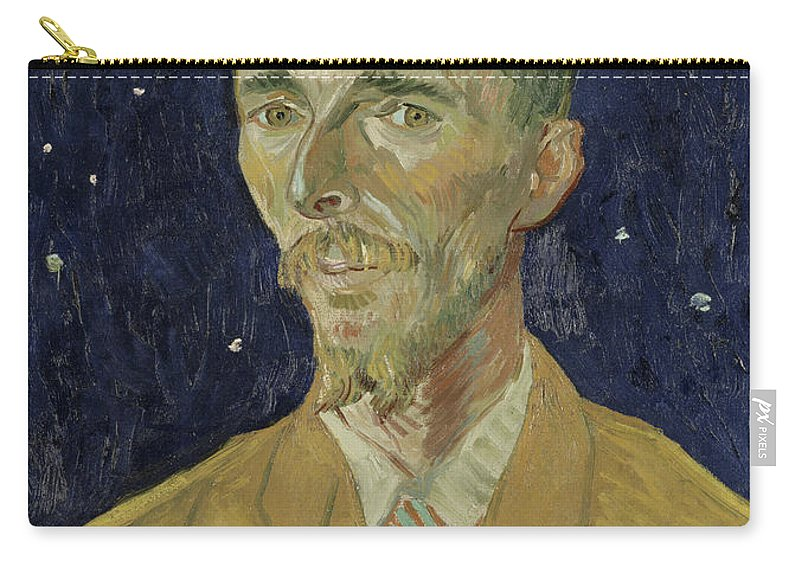 Vincent Van Gogh Carry-all Pouch featuring the painting Eugene Boch by Vincent van Gogh
