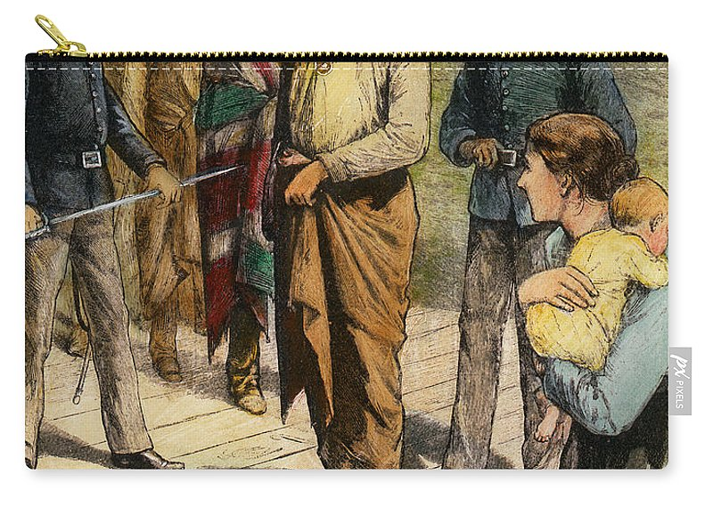 1907 Carry-all Pouch featuring the photograph Geronimo 1829-1909. by Granger