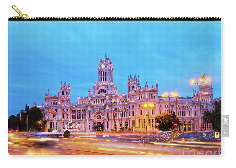 Spain Carry-all Pouch featuring the photograph Madrid, Spain by Karol Kozlowski