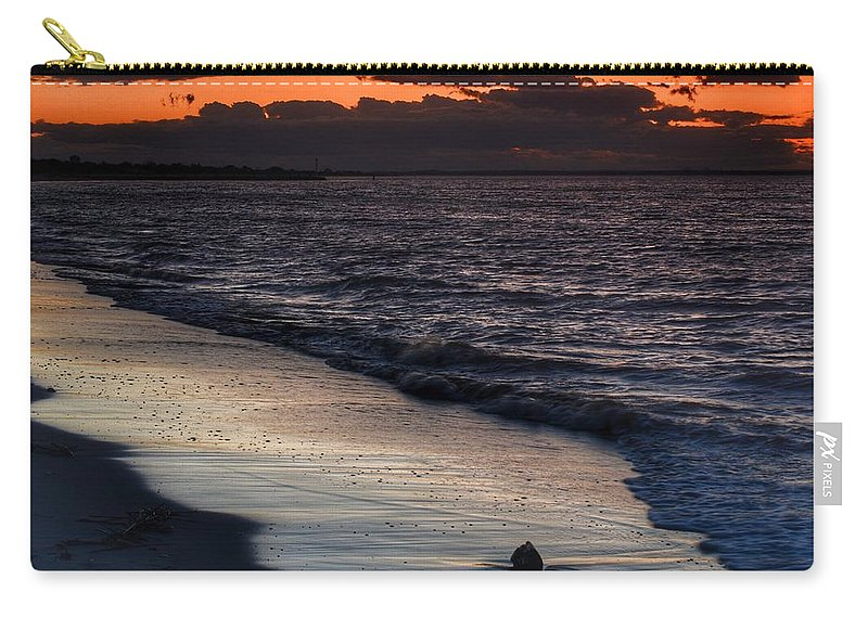 Sunset Carry-all Pouch featuring the photograph Sunset by Frank Morris