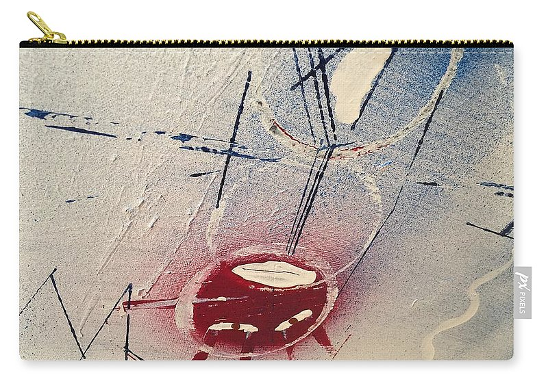 Abstract Carry-all Pouch featuring the painting Untitled by Kyle Braund