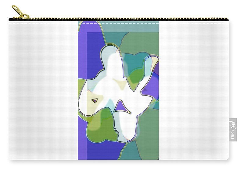 Jgyoungmd Carry-all Pouch featuring the digital art 61237 by Jgyoungmd Aka John G Young MD
