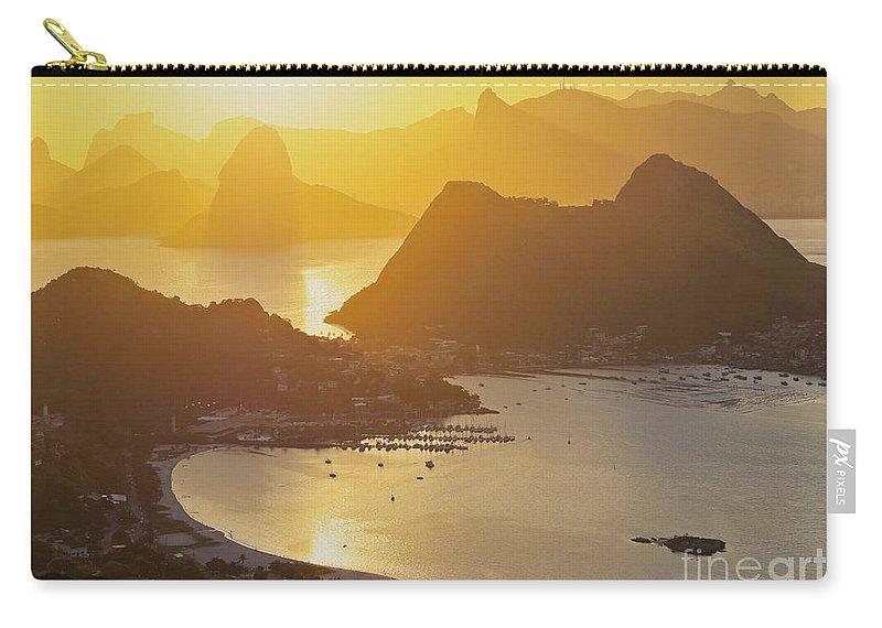 South America Carry-all Pouch featuring the photograph Rio De Janeiro by Karol Kozlowski
