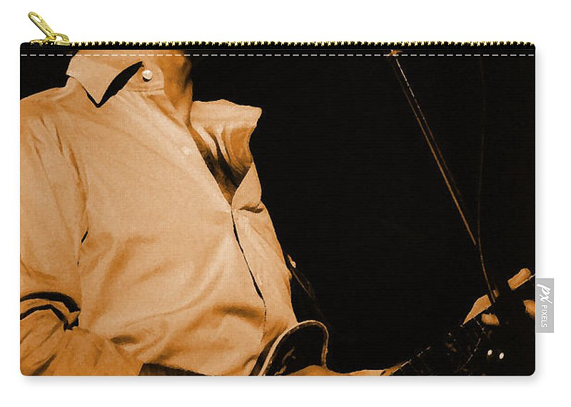 Bob Weir Carry-all Pouch featuring the photograph #7 Enhanced In Amber by Ben Upham