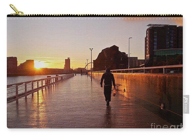 Europe Carry-all Pouch featuring the photograph Glasgow, Scotland by Karol Kozlowski