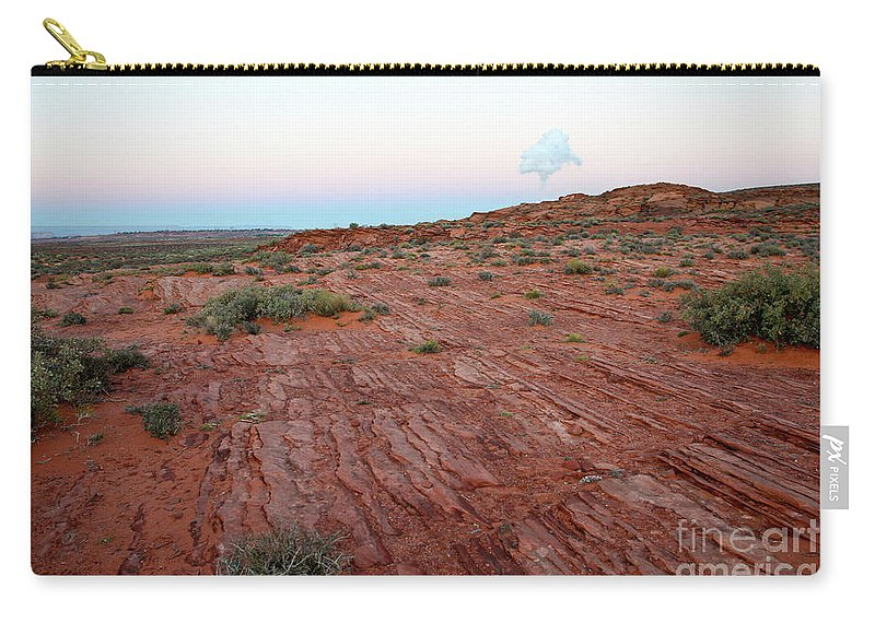 Navajo Carry-all Pouch featuring the photograph Horseshoe Bend Colorado River Arizona Usa by Gal Eitan