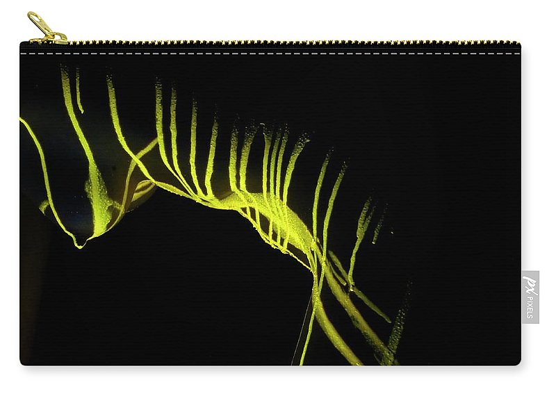 Nude Carry-all Pouch featuring the photograph Liquid Latex by Pavel Jelinek
