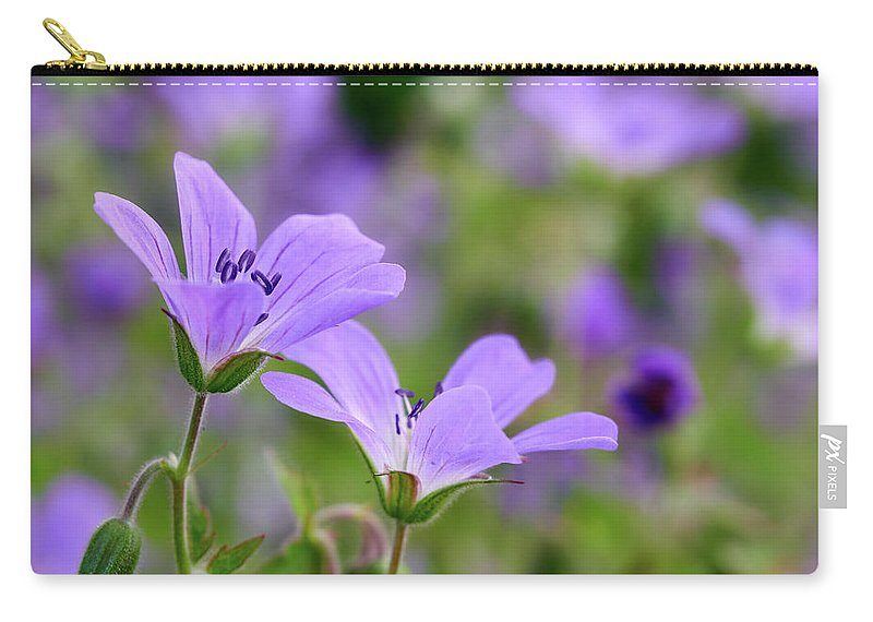 Finland Carry-all Pouch featuring the photograph Wood Cranesbill by Jouko Lehto