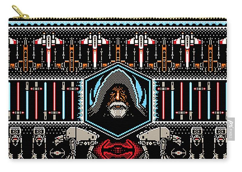 8 Bit Pixel Art Star Wars Carry All Pouch