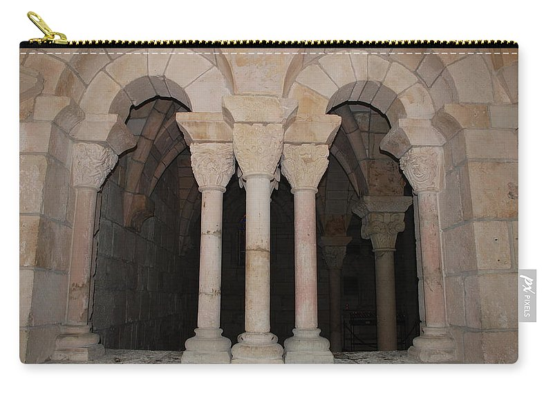 Arches Carry-all Pouch featuring the photograph Miami Monastery by Rob Hans