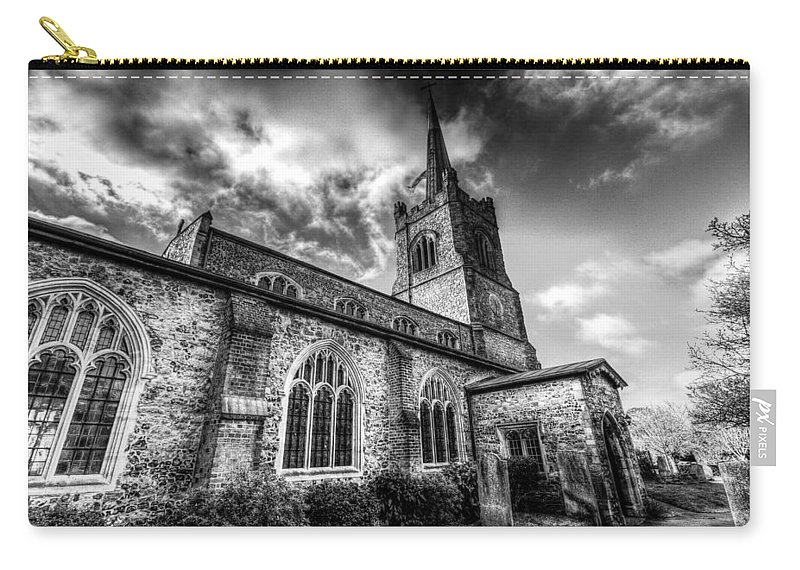 Church Carry-all Pouch featuring the photograph St Andrews Church Hornchurch by David Pyatt