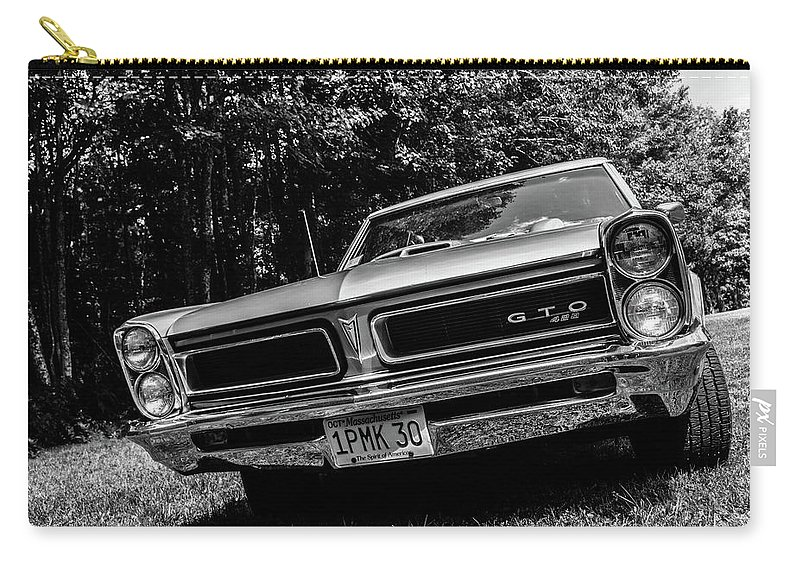 Tempist Carry-all Pouch featuring the photograph Classic Cars by Mickie Bettez