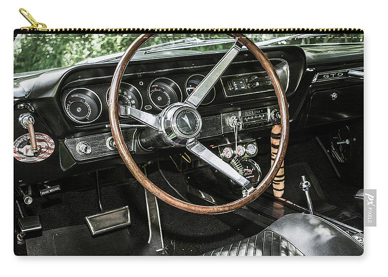 Classic Carry-all Pouch featuring the photograph Classic Cars by Mickie Bettez