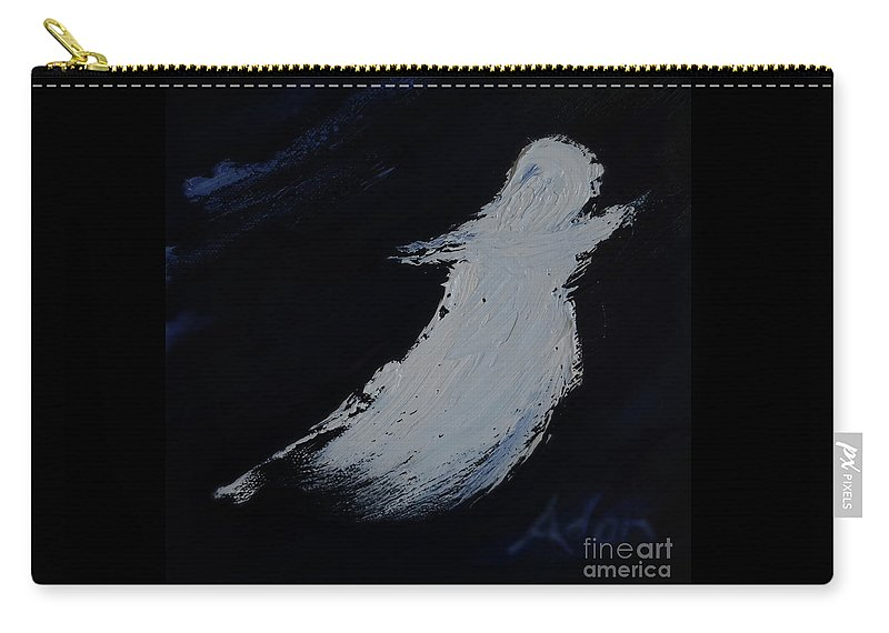 Angel Carry-all Pouch featuring the photograph 8x8 Intimate Spaces - Angel by Felipe Adan Lerma