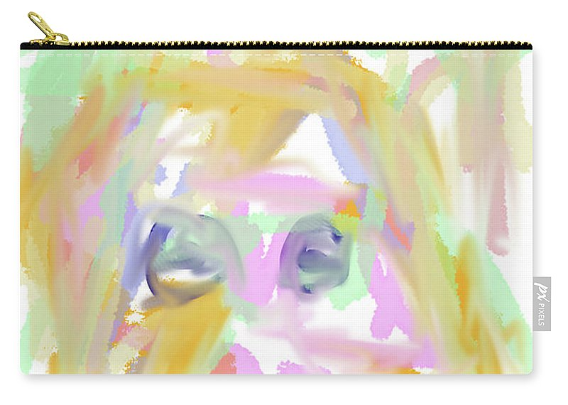 Walter Paul Bebirian Carry-all Pouch featuring the digital art 9-11-2057a by Walter Paul Bebirian